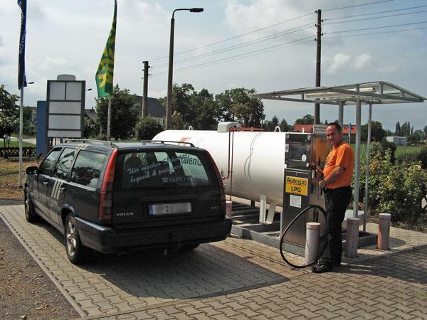 Autogas Umr Stung In Hoyerswerda Mit Lpg Tankstelle